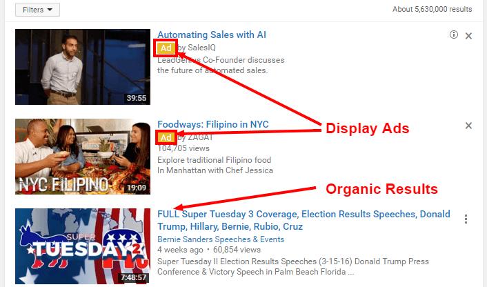 تبلیغات پروموشن یوتیوب