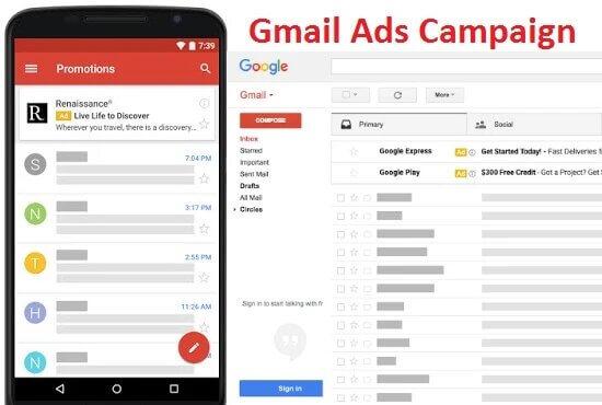 تبلیغات در جیمیل | تبلیغات بنری در جیمیل Gmail Ads