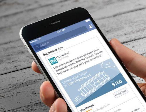 کمپین افزایش نصب اپلیکیشن در فیس بوک